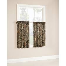 mossy oak break up infinity camouflage print window kitchen curtains set of 2 or valance com
