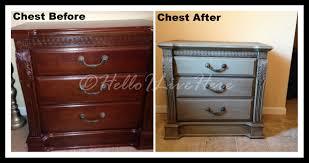 painted furniture makeover gold metallic. Makeover Furniture. Thrift Store Furniture Painted Gold Metallic