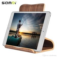 2019 multi function samdi tablet computer walnut real wooden mobile tablets stand holder for ipad mini air pro 6 5 from ailsachenstar 17 58 dhgate com