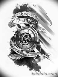 тату эскизы часы на руке мужские 09032019 003 Tattoo Sketches