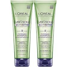 loreal everstrong sulfate free thickening shoo