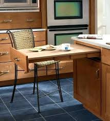 pullout table space saving islands and kitchen with pull out table 1 interior design blog island