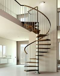Alluring Home Interior Design With Various Wrought Iron Spiral Staircase  Kit : Charming Image Of Home