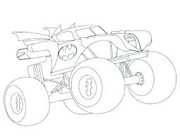 Printable Monster Truck Coloring Pages Monextelco