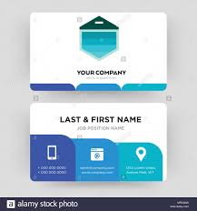 garage door business card design template visiting for your pany modern creative and clean ideny card vector