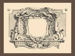 antique picture frames vector. Whiskey Label With Old Frames Vector Layered Stock Image And Antique Picture 2