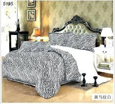 cozy design zebra print single duvet set bedding sets quilt animal bedroom pink black