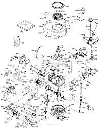 Tecumseh lev100 340018d parts diagram for engine parts list lev pg1
