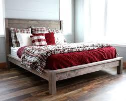 farmhouse bed frame.  Farmhouse Modern Farmhouse Bed Intended Frame G