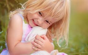 Find out Cute Girl Hugs Rabbit wallpaper on http hdpicorner.