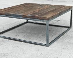industrial wood furniture. reclaimed wood coffee table steel base industrial factory brickmakeru0027s vintage cast iron furniture o