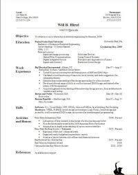 Resume Template Generator Free Online Cv Maker In Word Making Make