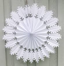 Decorative Items With Paper Manufacture Snowflake Embellishments Paper Materialwall Hanging