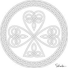 Small Picture Awesome Shamrock Coloring Pages Printable Images Coloring Page