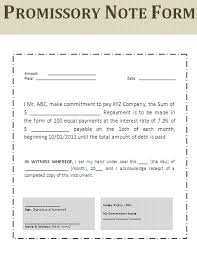 Basic Promissory Note Adorable Promissory Note Forms Free Download Bire44andwap
