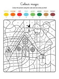 Advanced color by number (73). 300 Winter Christmas Color By Number Pages For Adults And Children Ideas Christmas Color By Number Christmas Colors Coloring Pages