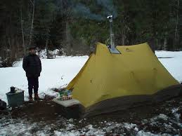 stove jack for tent. got a ti-goat stove jack up-sized for biger diameter pipe my kni-co packer stove. works great. tent
