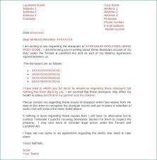 Complaint Letter To Landlord Template Starmail Info