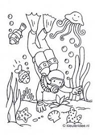 Dont Be A Waster Coloring Page Camping Coloring Page For The Kids