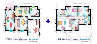 best house plans design ideas for home amazing of simpsons house floor plan floorplan for