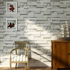 3D Effect Brick Stone Wall Sticker ...