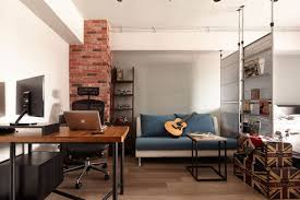 Tiny Industrial Loft Style Apartment In Taipei City - Industrial apartment