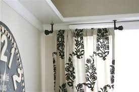 black curved shower rod attractive bathroom accessories and decoration with shower curtain rod hardware delightful image of bathroom design matte black