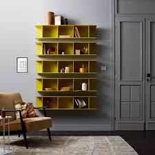 wall mounted bookcase arda capo d