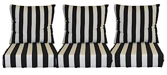 black and white stripe cushions for patio outdoor black and white striped furniture
