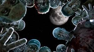 Zombies In Night Horror HD Wallpaper ...