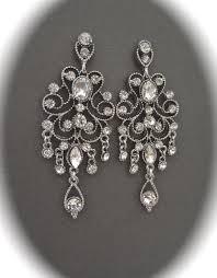 brides earrings crystal chandelier earrings antiqued victorian vintage style crystal wedding earrings gorgeous bridal jewelry
