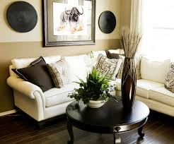 Zebra Living Room Furniture Minimalist African Living Room With Grey Sofa And