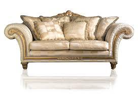 Living Room Furniture Glasgow Classic Sofa Imperial In Ivory Fabric Vimercati Classic Furniture