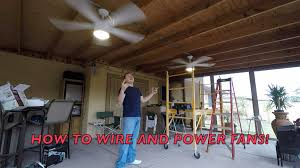 patio ceiling fans. HOW TO INSTALL OUTSIDE CEILING FANS ***WITH CONDUIT*** DIY!!! Patio Ceiling Fans F