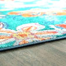 burnt orange and teal area rug turquoise navy hearth green