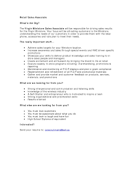Sales Associate Job Description Resume Retail Sales Associate Job Description For Resume 100 Online 19