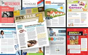 Sample Business Newsletter Enchanting 48 Newsletter Names Titles And Design Ideas StockLayouts Blog