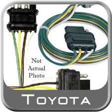 new toyota tacoma trailer wiring harness from 1999 2001 toyota tacoma trailer wiring harness genuine toyota 08921 04810 aa