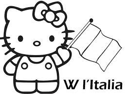 Hello Kitty Da Colorare Per Bambini Con Hello Kitty Coloring Pages E