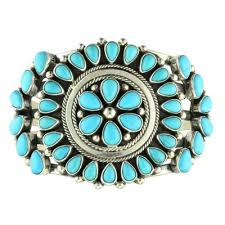sleeping beauty turquoise cer bracelet by kathleen chavez