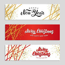 happy new year background. Brilliant Happy Gold Sparkles Happy New Year Background And Red Banners Christmas  Banner With Text Intended Background