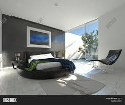 Modern Luxury Bedroom Modern Luxury Bedroom With Black Leather And Grey And White Decor