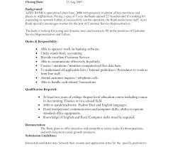 Resume Of Customer Service Representative Duties For Template ...