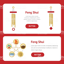 water feng shui element infographics. Five Elements Of Feng Shui: Fire, Water, Wood, Earth, Metal Royalty Water Shui Element Infographics
