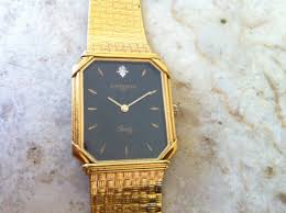vintage men s watch wittnauer by longines black dial rectangular vintage men s watch wittnauer by longines black dial rectangular watch for reparis gold