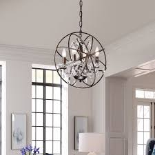 chair amusing orb chandelier with crystals 5 oil rubbed bronze entryway crystal accent decor interesting for