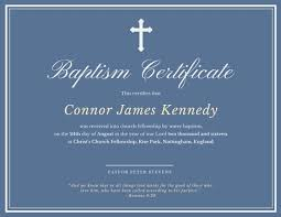 Baptism Certificate Elegant Baptismal Certificate Templates By Canva