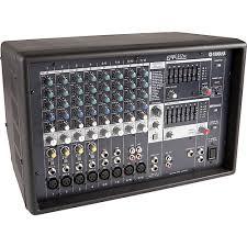 yamaha mixer. yamaha emx512sc powered mixer