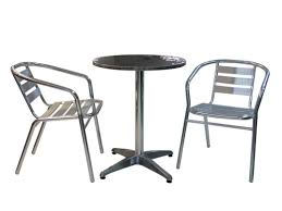 outdoor table and chairs png. 3pce rimless table and inox chairs setting outdoor png