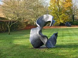 garden sculpture. The Keeper Of Place - Resin H:1.76m; L:1.5m; W:1.4m Garden Sculpture U